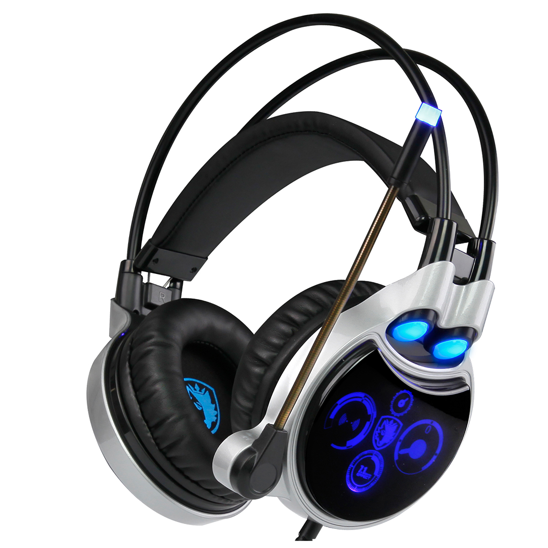 SADES R8 USB Gaming Headset Equipped with Virtual 7.1 Channel Surround Sound<br><br>Aliexpress