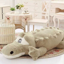1piece 60cm/90cm New Arrival Stuffed animals Big Size Simulation Crocodile Plush Toy Cushion Pillow Toys For Girl Free Shipping