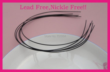 20PCS Black 1.2mm thickness Plain Metal Wire Hair Headbands at lead free and nickle free,Bargain for Bulk