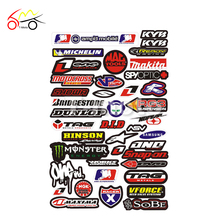 New Decals Stickers ATV Dirt Bike Off-road CRF MDS04 Motorcycle decals moto stickers wholesale Cheap motocross scooter available