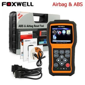 Scanner automotriz original foxwell nt630 automaster pro abs srs airbag airbag crash data reset herramienta de diagnóstico del coche