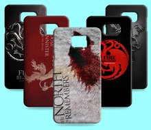 Ice and Fire Cover Relief Shell For Samsung Galaxy Note 5 N9208 Cool Game of Thrones Phone Cases For Galaxy Note 5 Edge(China)