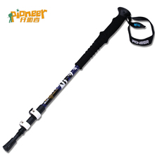 POINT BREAK Pioneer Pioneer - The 2 Series Of the North Pole Star 7075 Outdoor Lock Aluminum Alloy Mountaineering Cane Ski Pole