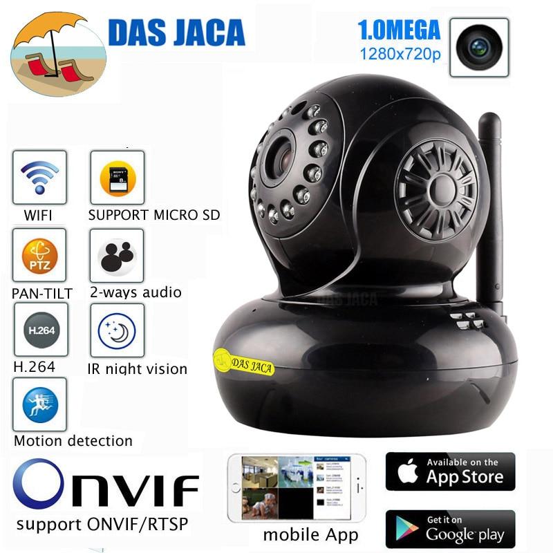 surveillance camera wireless ip camera 720p 1.0mp hd wifi CCTV camera infrared night vision p2p baby monitor ptz security camera<br>