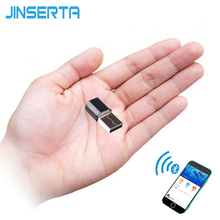 JINSERTA Portable Mini Bluetooth Receiver Adapter Stereo Music Wireless Speakers Audio Receptor USB 3.5mm RCA AUX for Amplifier(China)