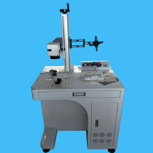 20W fiber laser marking machine metal laser marking machine price for hardware jewelry(China)