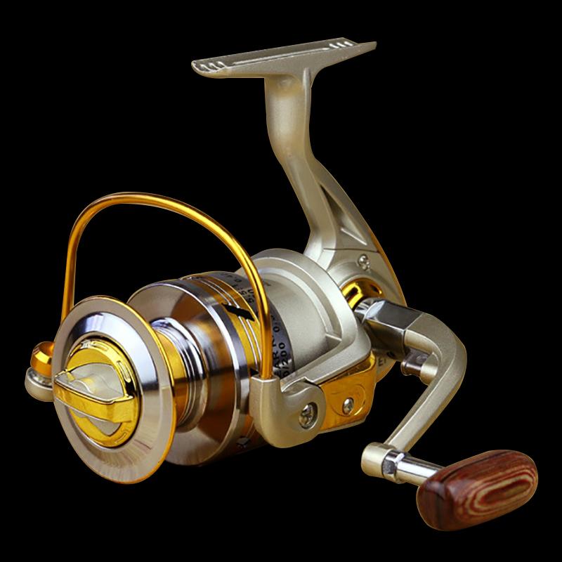 FDDL Metal Fishing Reel Baitingcasting Reel 5.51 EF1000-7000 10BB Lake Ocean Ice Fishing Gear Spinner Reel Fishing Coils (4)