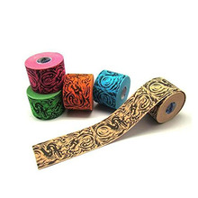 5.0cm*5m Kinematics Tex - Elastic Kinesiology Tape for Support & Healing - Cotton, Polyurethane, Acrylic Adhesive(China)
