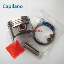 motorcycle piston kit with piston ring piston pin and piston pin lock GS150 for suzuki 150cc 62mm bore