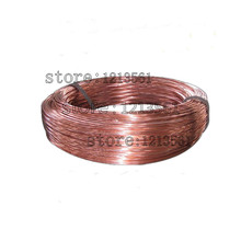New 0.8mm 20 Gauge Soft Pure Solid Bare Copper Bright Wire Coil for Jewelry Crafts Making 20m or 40m DIY Natural Red Copper Wire