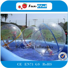 4pcs+1blower Best selling inflatable water walking ball of glitter water ball or giant inflatable ball for summer water amusemen(China)