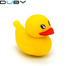 Yellow Duck U Disk pen drive cartoon 128 mb/8gb/16gb/32gb/64gb bulk duck usb flash drive flash memory stick pendrive mini gift