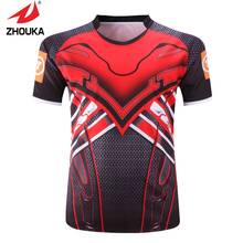 custom personalized american football 100% polyester High Quality Unique Custom Men's Rugby Jerseys maillot football france