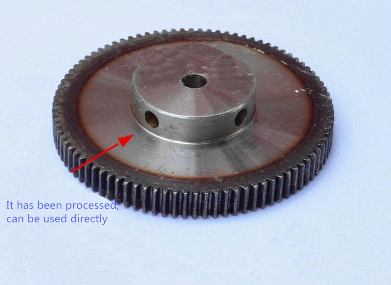 Spur Gear pinion 120T 1 mod gear rack 120teeth bore 8mm 10mm  spur gear precision 45 steel cnc rack and pinion<br><br>Aliexpress