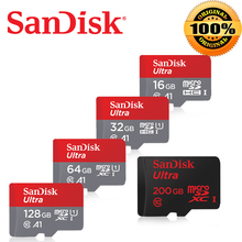 SanDisk 64gb micro sd 32gb TF card 128GB carte sd usb flash memory card 64GB microsd class10 Original free ship tablet android(China)