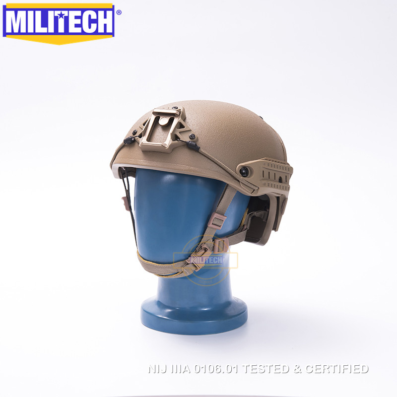 MILITECH M/L NIJ level IIIA 3A Air Frame Aramid Bulletproof Airframe Helmet With Ballistic Test Report 5 Years Warranty
