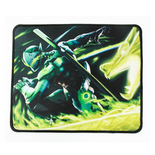 Hot Overwatch GENJI Gaming Mouse Pad 26*21*0.3cm USB Mouse Pad Non Slip Locking Edge Mat for PC Computer Laptop CS LOL Gamer