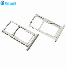 Netcosy New SIM Card Tray Slot Holder Adapters for MeiLan Note2 Replacement Parts Repair High Quality Cheap Accessories(China)