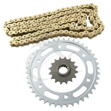 New Gold O-Ring Chain and Sprocket Kit For Honda CBR 600RR CBR600 RR 2003-2010 2004 2005 2006 2008 motorcycle(China)