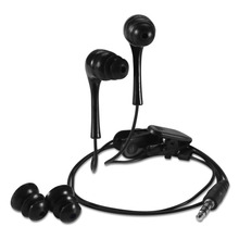 Waterproof Earphone for a Mobile Phone 3.5mm Earphones Earplugs Super Bass Stereo Earbuds for mobile phone MP3 MP4(China)