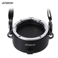 Andoer Fast Lens Changing Equipment Lens Flipper Double Dual Lens Holder for Canon Sigma Tamron Zeiss Tokina EF/EF-S Mount Lens