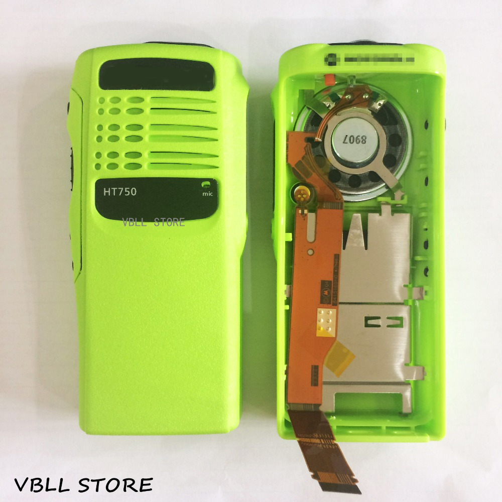 Green Repair Front Housing Cover for Motorola PRO5150 Portable