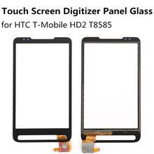 Touch Screen Digitizer for HTC T - Mobile HD2 T8585 Black explay vega dns wholesale free shipping