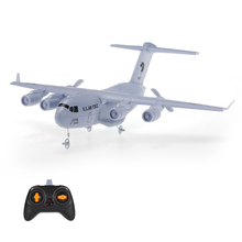 New Remote Control Airplane C-17 2.4GHz 2CH 373mm Wingspan RC Airplane Transport Aircraft EPP with Gyro RTF
