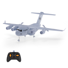 New Remote Control Airplane C-17 2.4GHz 2CH 373mm Wingspan RC Airplane Transport Aircraft EPP with Gyro RTF(China)