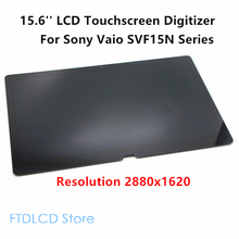 LCDOLED 15.6'' LCD Touch Screen Digitizer VVX16T020G00 Replace Laptops For Sony Vaio Flip SVF15N Series SVF15N17CXB SVF15N1B4E(China)