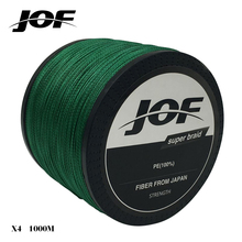 1000m 4 strands PE Braided Wire Muliti Colors Multifilament Fishing Line Fishing Tackle lure 18LBS-80LBS