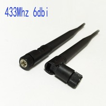 WIFI SUPPLY  433Mhz 6dbi OMNI antenna SMA male Connector 19cm long rotatable #2