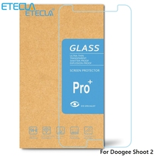 3PCS Doogee Shoot 2 Tempered Glass Doogee Shoot 2 Glass Doogee Shoot2 Screen Protector Film Case 0.26mm HD 2.5D Clear Glass