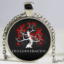 Game of Thrones glass cabochon movie necklace Pendant A Song of Ice and Fire necklace tree Jewelry Women Necklaces