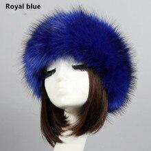 3ba3e53341b Yyun Luxury Brand Russian Cossack Style Faux Fur Headband for Women Hair  Band Femme Winter Earwarmer. 27 Colors Available