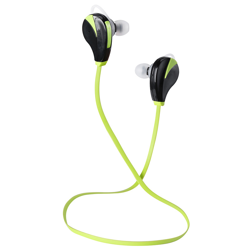 1PC Wireless Sport Headphone Green Bluetooth Music Mp3 Player For Iphone Android Smartphone Laptop Earphone Home Office Outwear <br><br>Aliexpress
