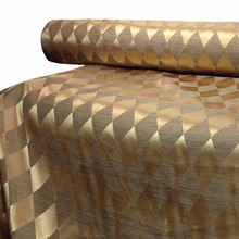 1Meter 100*280cm,Gold Jacquard Curtain Fabric Meter,Diamond Pattern,Decorative Hometextile Curtain Fabric Table Cloth Fabrics