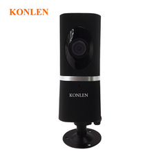 1080P 2MP HD Mini IP Camera Wifi 180 Degree Surveillance CCTV Fisheye Security Home Video Kamera Night Vision Audio SD Card Slot(Hong Kong)