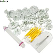 46 in 1 Kitchen Baking Molding Kit All Kind Of Different Desserts Decorators Sugarcraft Making Mould for Cookie Cake Decoration