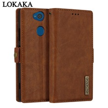 Buy LOKAKA Case Sony Xperia XA2 XA 2 6.0 Inch Luxury PU Leather Phone Bags Cases Sony Xperia XA2 Cover Card Holder Shell for $8.24 in AliExpress store