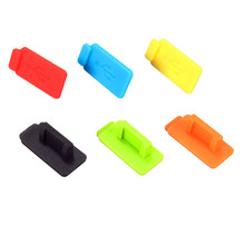 Best Price Colorful 6 Pcs Rubber Silicon Protective AntiI Dust USB Plug Cover Stopper For Computer Laptop Super Quality