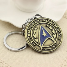 Star Wars Star Trek metal key chian 2016 New Star Trek spacecraft action figures toys gifts party supply decoration
