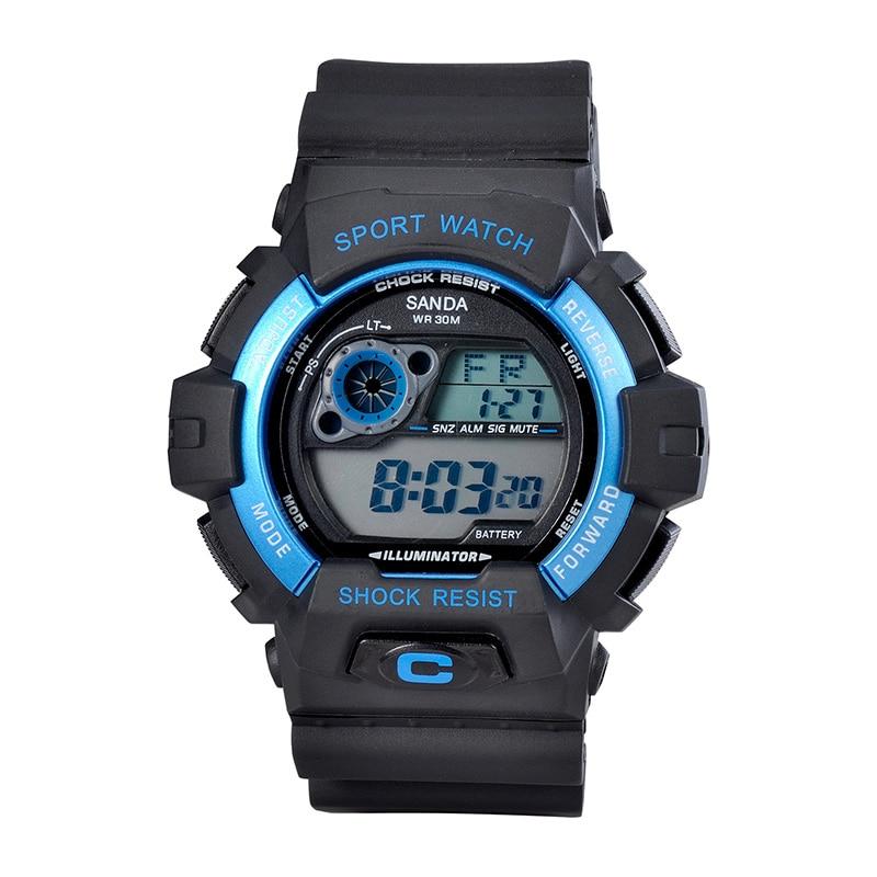 Luxury Mens Sports Watches Luminous Waterproof Outdoor Multifunction Men Electronic Watch Diving Mountaineering Mens Watch<br><br>Aliexpress