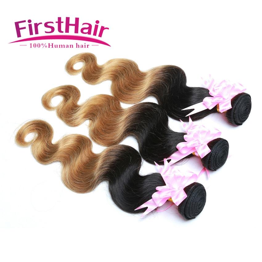 Malaysian Body Wave Virgin Hair 1b 27 Ombre Virgin Hair Dark Honey Blonde Weave 7a Unprocessed Virgin Hair 3 Bundles For Sale<br><br>Aliexpress