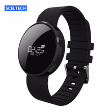 IN STOCK SCELTECH UW1 Bluetooth4.0 Smart Bracelet mirror Screen Heart Rate Monitor IP67 Waterproof Call Reminder for Android iOS