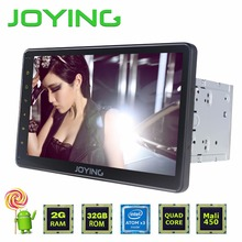 "Joying 2GB+32GB 10.1"" Universal 1024*600 Intel Car Stereo GPS Navigation System Android 5.1.1 Lollipop Quad Core 2 Din Head Unit"