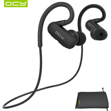QCY combination sets QY31 sports headphones wireless bluetooth V4.1 earphones stereo headset and portable pouch(China)