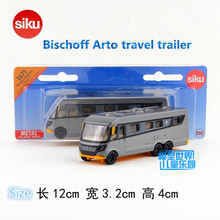 SIKU/Die Cast Metal Models/The simulation toys :Bischoff Arto travel trailer/for children's gifts or for collections/very small