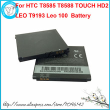 New BB81100 Li-ion Mobile Phone Battery For HTC T8585 T8588 HTC TOUCH HD2 LEO T9193 Leo 100 , 1230 mAh, High Quality
