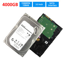 CCTV SATA HDD 3.5 inch 4000GB Hard Disk 4TB Drive For CCTV Standalone AHD DVR NVR recorder cctv Security System and PC Computer